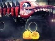 Jocuri cu curse camioane monstru de halloween