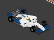curse formula 1 3d retro