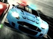 Jocuri cu curse masini de politie pe circuit