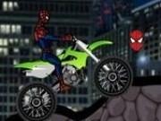 curse omul paianjen cu motocicleta