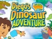 Jocuri cu diego si dora in aventura dinozaurilor