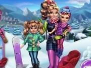 Jocuri cu distractie de iarna cu gemenele disney