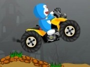 doraemon conduce atv de burger