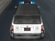 dube de politie in cursa
