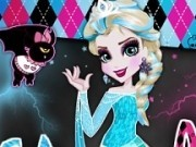 elsa frozen de imbracat in stilul monster high