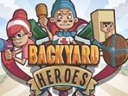 Jocuri cu eroii in curtea din spate