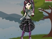 ever after high cu raven queen in moda dragon