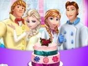 Jocuri cu familia frozen gateste tort