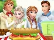 Jocuri cu familia frozen la gratar