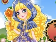 fete ever after high de moda cu blondie locks