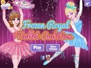 Jocuri cu fetele frozen sunt balerine