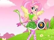 Jocuri cu fluttershy moda de arcas roz