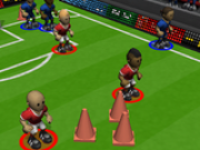 Jocuri cu fotbal 3d cu dat la poarta