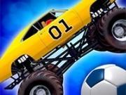 Jocuri cu fotbal cu camioane monstru