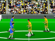 fotbal cu doi fotbalisti