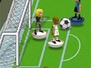 fotbal cu jucarii fotbalisti