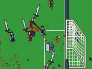fotbal cu sabii