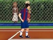 fotbal cu tenis de picior