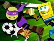 Jocuri cu fotbal spongebob desene animate