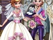 frozen elsa pregateste nunta anna din regatul de gheata
