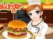 Jocuri cu gatit hamburger cu tessa