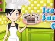 gatit tort de inghetata cu sara