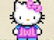 Jocuri cu hello kitty de colorat