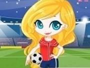 Jocuri cu imbraca barbie fotbalista