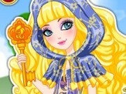 Jocuri cu imbraca ever after high blondie lockes