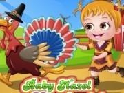 Jocuri cu imbraca fetita hazel de ziua recunostintei