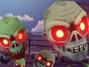 impuscaturi capete de zombie 3d