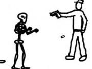 Jocuri cu impuscaturi in lumea desenata