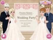 Jocuri cu invitatia de nunta pentru printesele frozen