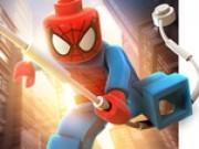 lego spiderman sarituri cu panza
