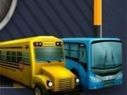 lumea de parcat autobuze 3d