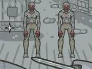 luptator de reflexe contra zombie