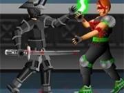 Jocuri cu lupte samurai in arena