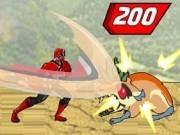 Jocuri cu luptele din transformarea power rangers