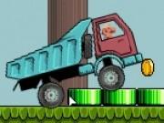 mario conduce camionul cu suspensii