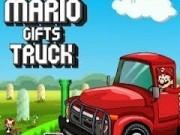 mario conduce camionul de cadouri