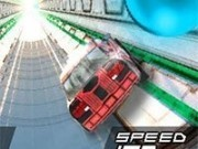 masini 3d curse in tunel