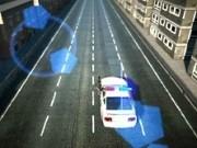 masini de politie in actiune