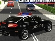 masini de politie in urmariri 3d