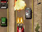 masini distrugatoare pe autostrada