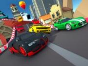 mini curse cu masini cartoon