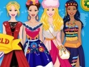 moda din jurul lumii cu barbie