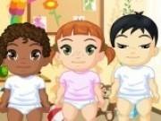 Jocuri cu moda pentru bebelusi