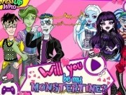 monster high de ziua indragostitilor monstertine