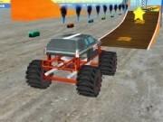monster truck 3d cu cele mai tari cascadorii