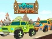 monster truck de desene animate pe curse explozive